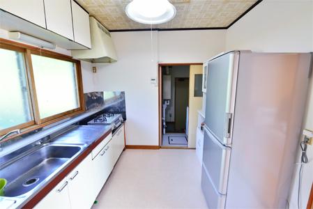瀬棚区東大里研修住宅キッチン