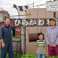 先輩農業者 平川さん
